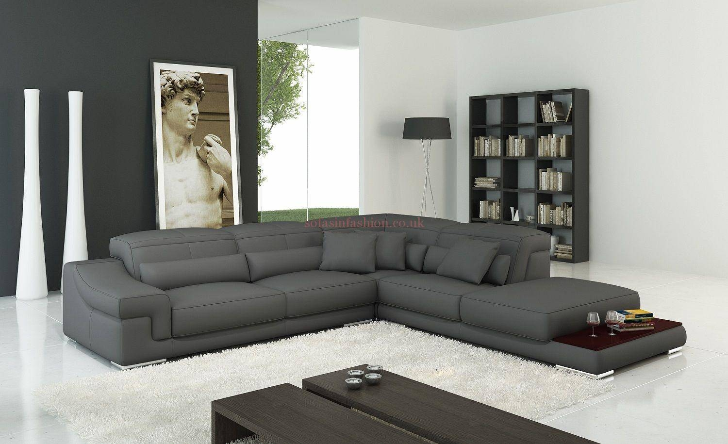 Elegant Leather Corner Sofa Fast Cheapest Viagra Prices Get An for Very Large Sofas (Image 9 of 30)