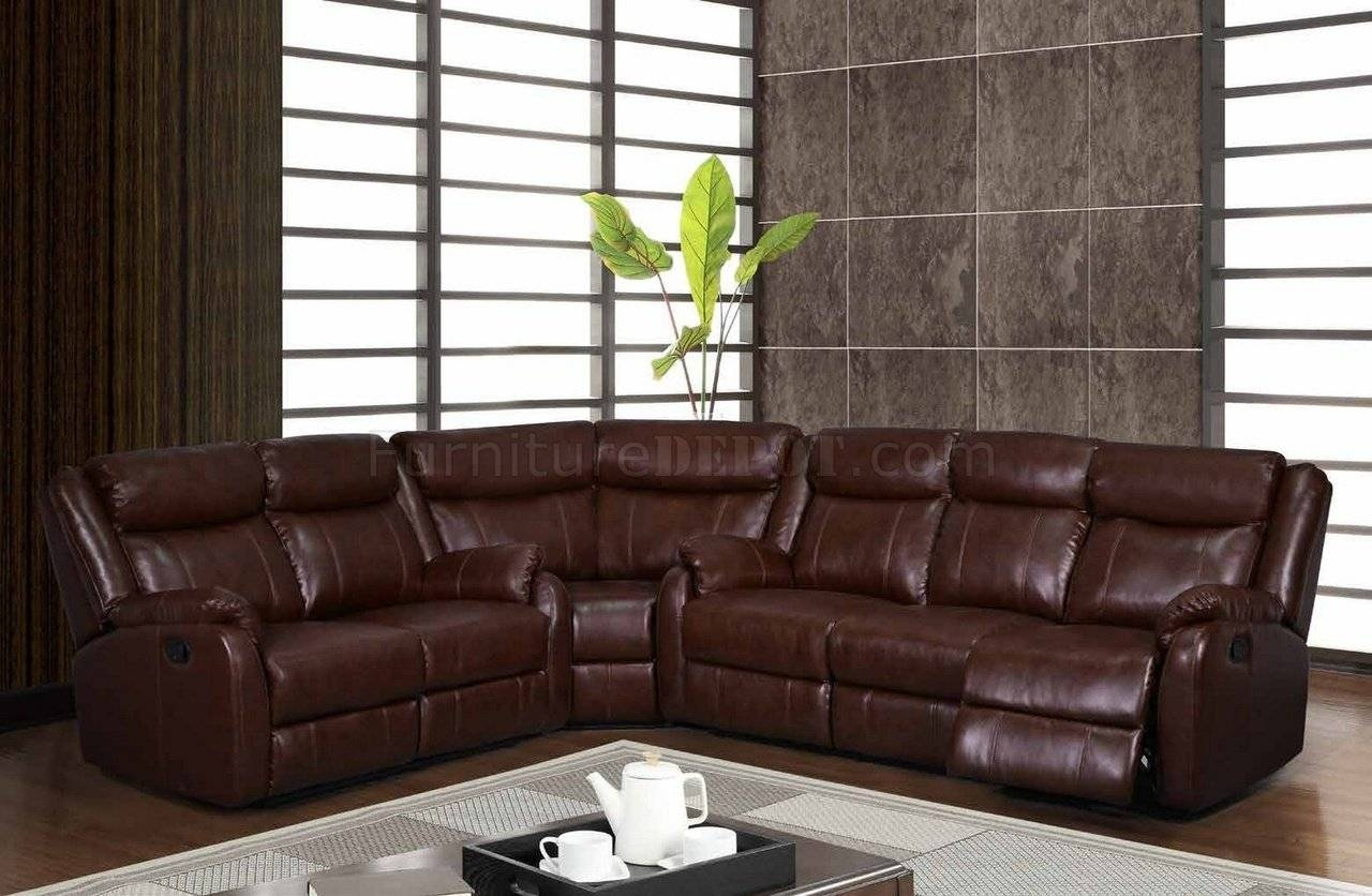 Elegant Leather Motion Sectional Sofa 52 On Abbyson Living Throughout Abbyson Living Charlotte Beige Sectional Sofa And Ottoman (Image 16 of 30)