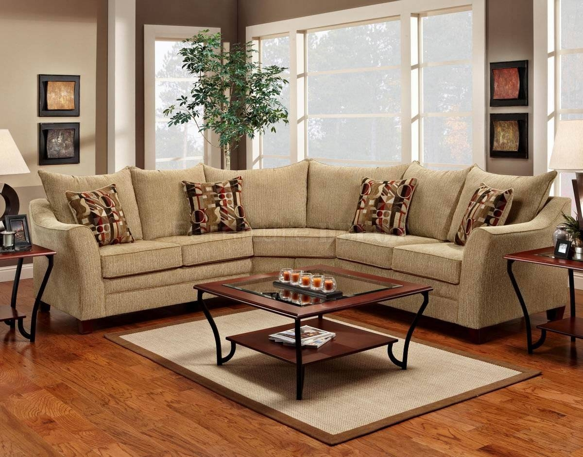 Elegant Sectional Sofas And Beige Fabric Elegant Modern Sectional for Elegant Fabric Sofas (Image 13 of 30)