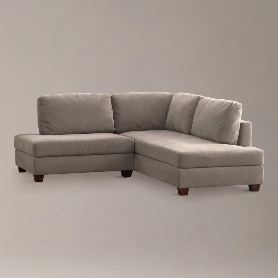 Elegant Small Scale Sectional Sofa With Chaise 80 For Your inside Gold Sectional Sofa (Image 7 of 25)