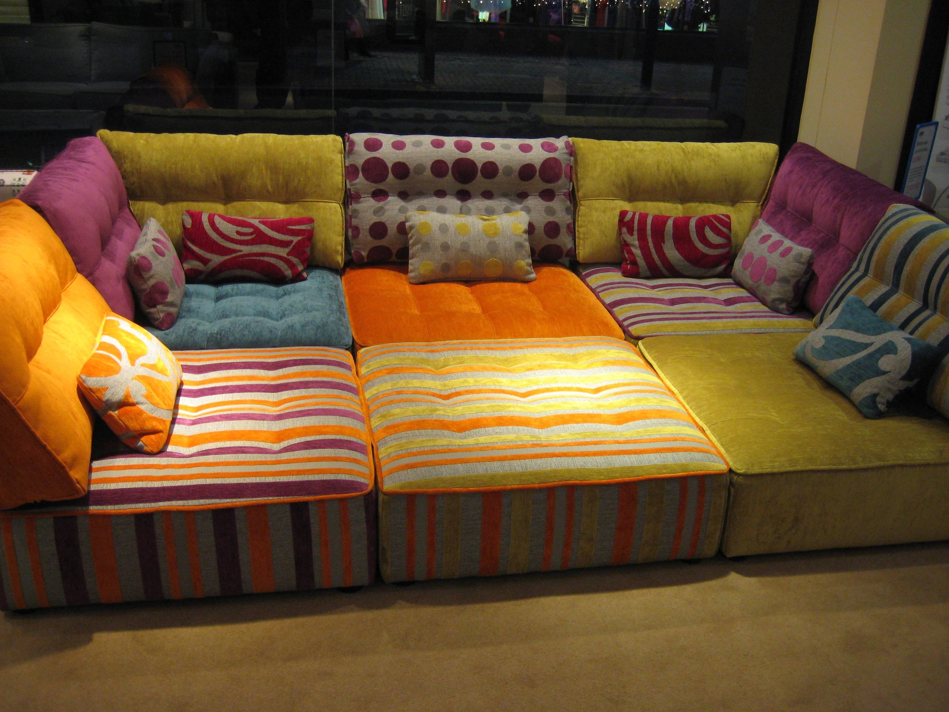 Elegant Sofa Pit 72 In Sofas And Couches Set With Sofa Pit in Pit Sofas (Image 3 of 30)