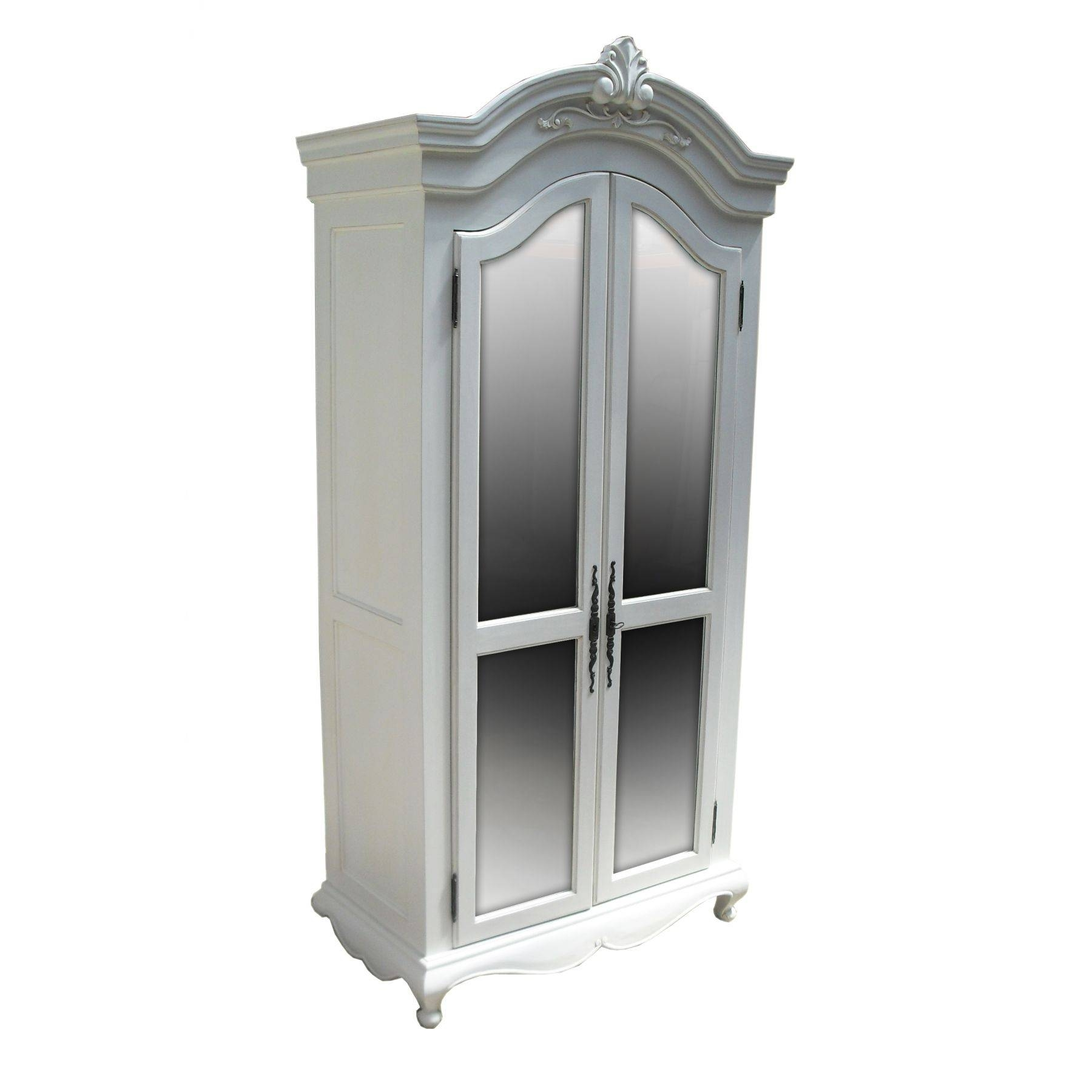 Elegant White Armoire — Liberty Interior intended for Black French Wardrobes (Image 6 of 15)
