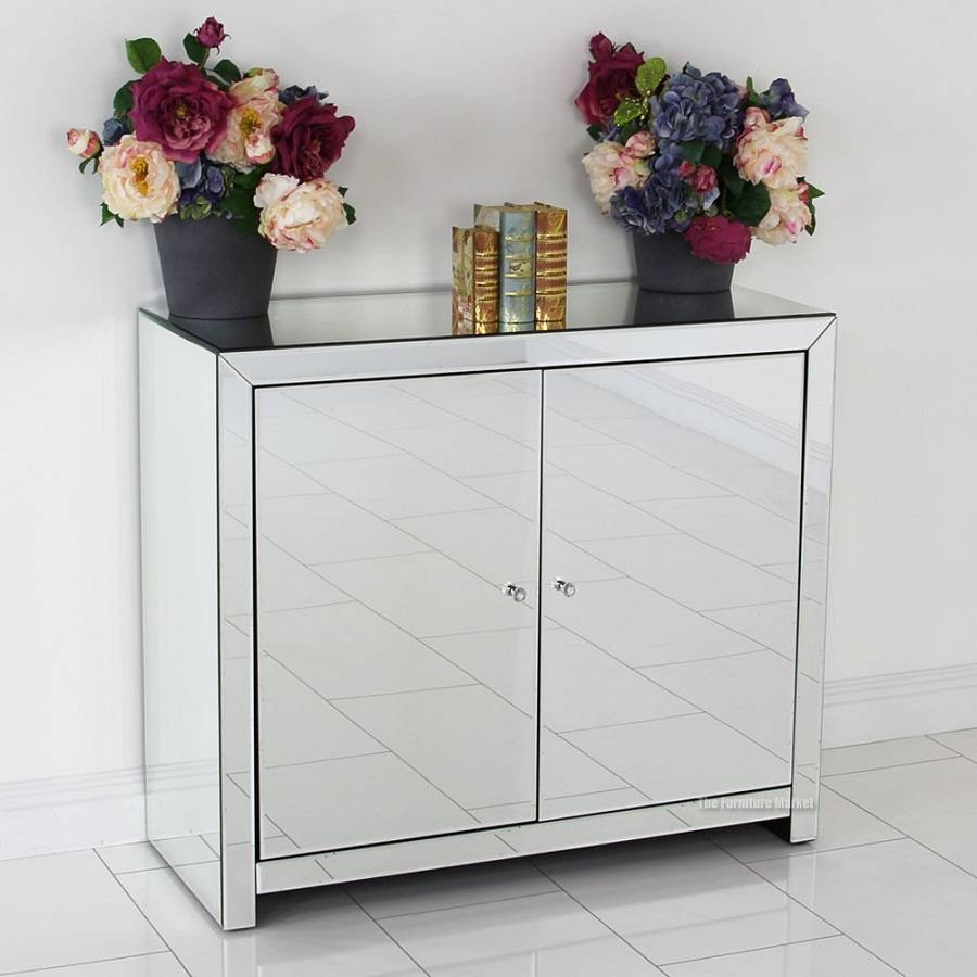 Elegant With White Mirrored Sideboard — Curtain - Mirrors - Wall Decor in White Mirrored Sideboards (Image 9 of 30)