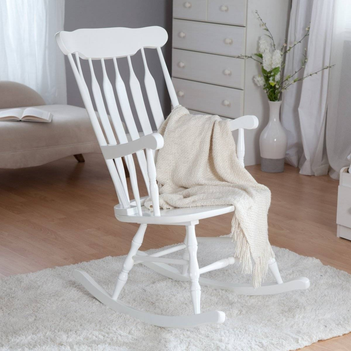 Elegant Wooden Rocking Chair For Nursery Chair Sofa | Tamingthesat inside Sofa Rocking Chairs (Image 3 of 30)