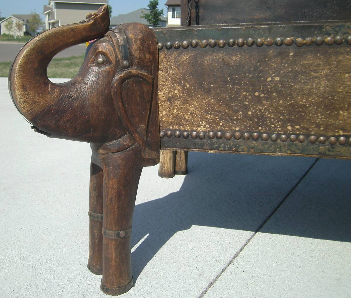 Elephant Trunk Coffee Table Chest | Collectors Weekly regarding Elephant Coffee Tables (Image 19 of 30)