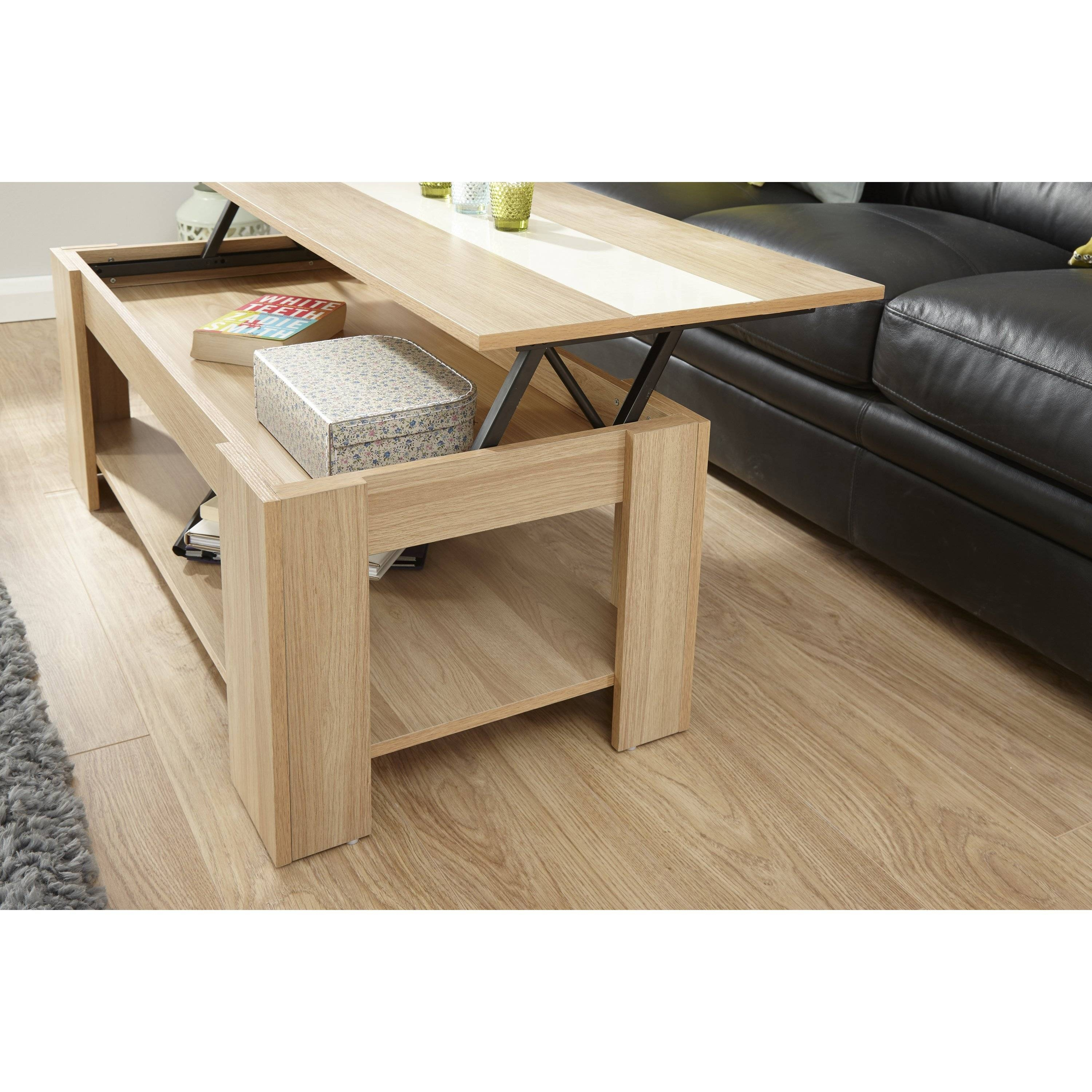 Elevating Coffee Table for Logan Lift Top Coffee Tables (Image 16 of 30)