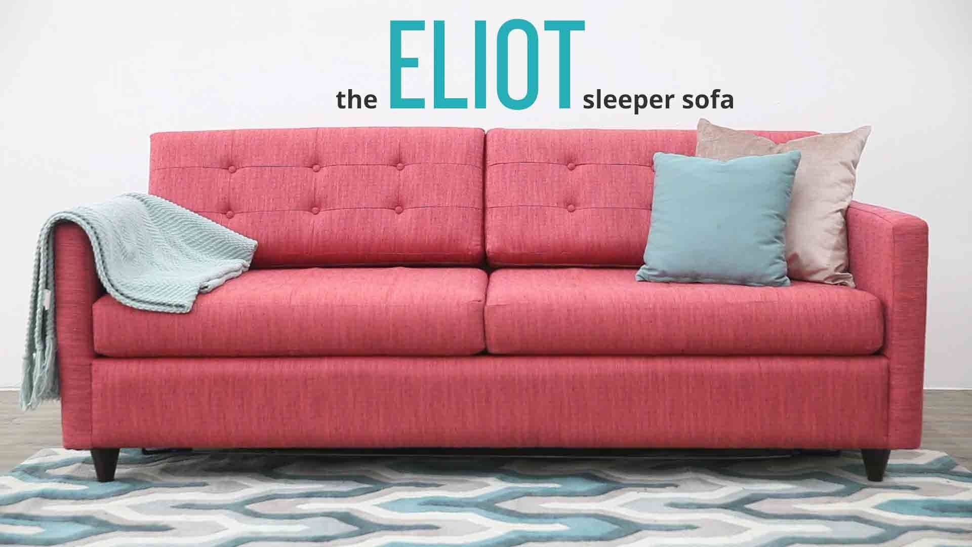 Eliot Sleeper Sofa | Joybird pertaining to Elliott Sofa (Image 7 of 30)