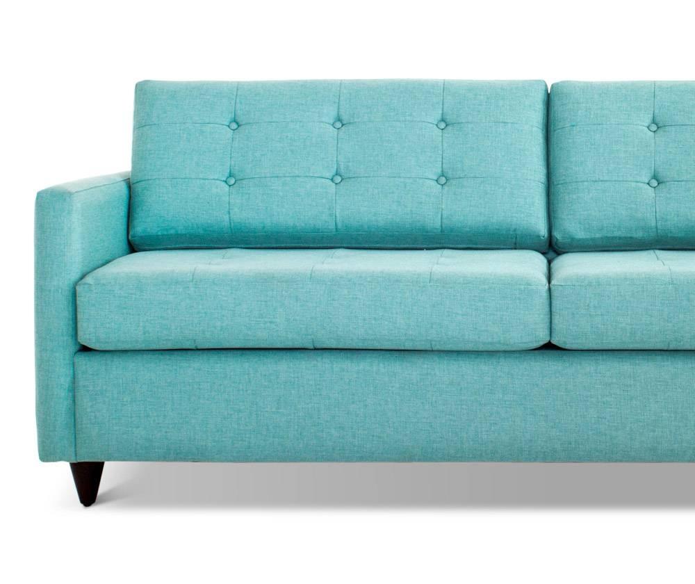 Eliot Sleeper Sofa | Joybird within Aqua Sofa Beds (Image 12 of 30)
