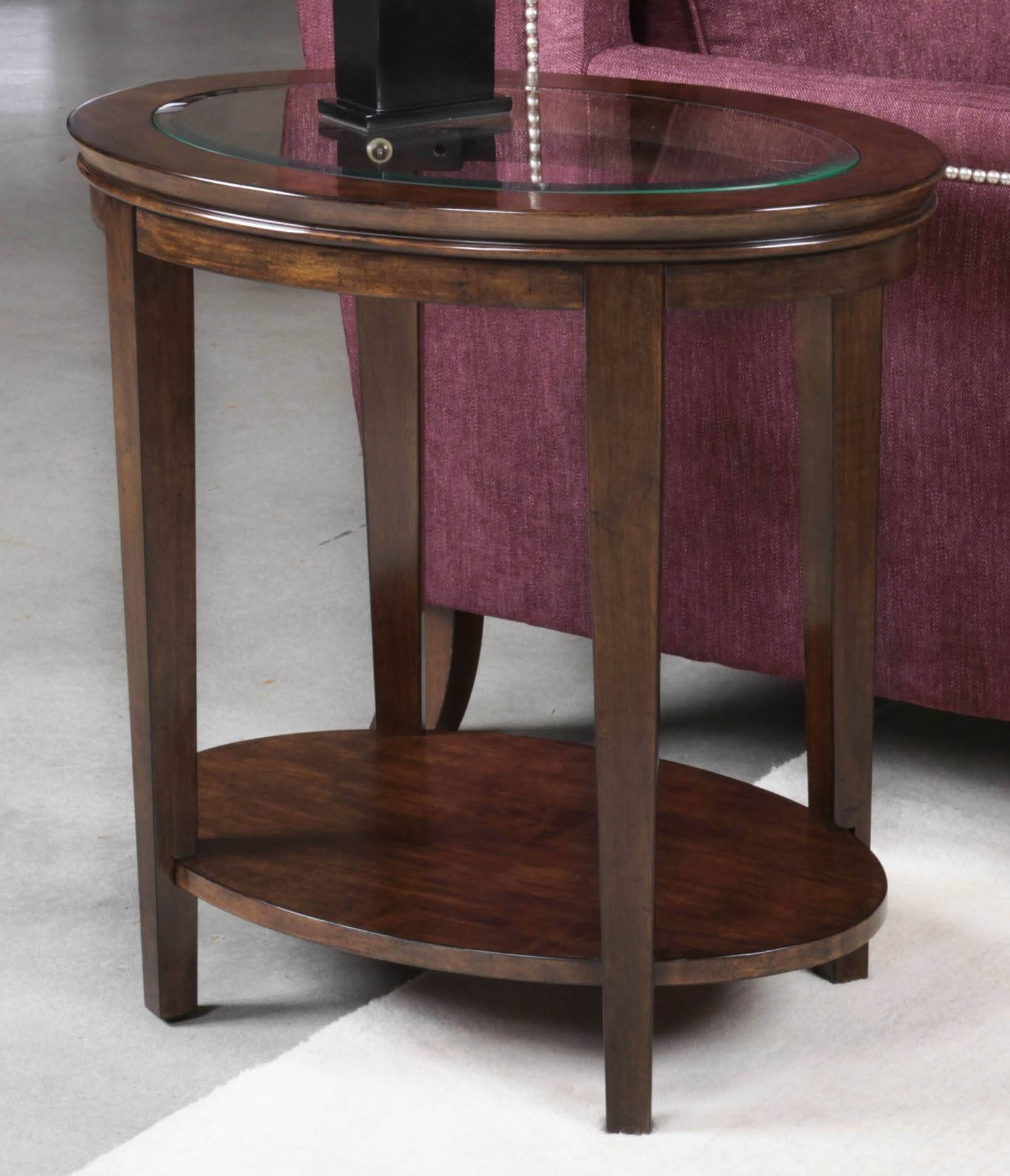 Elise Oval End Table pertaining to Elise Coffee Tables (Image 12 of 30)