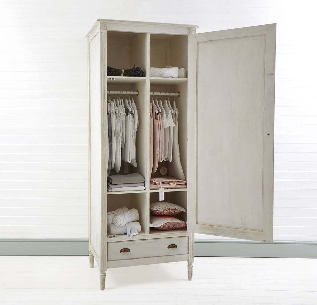 Eliza Wardrobe I Piccoli & Co. regarding Single Wardrobe With Drawers And Shelves (Image 13 of 30)