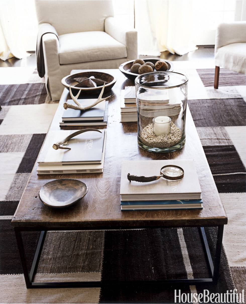 Emejing Coffee Table Ideas Decorating Photos - Home Iterior Design in Mercury Glass Coffee Tables (Image 18 of 30)