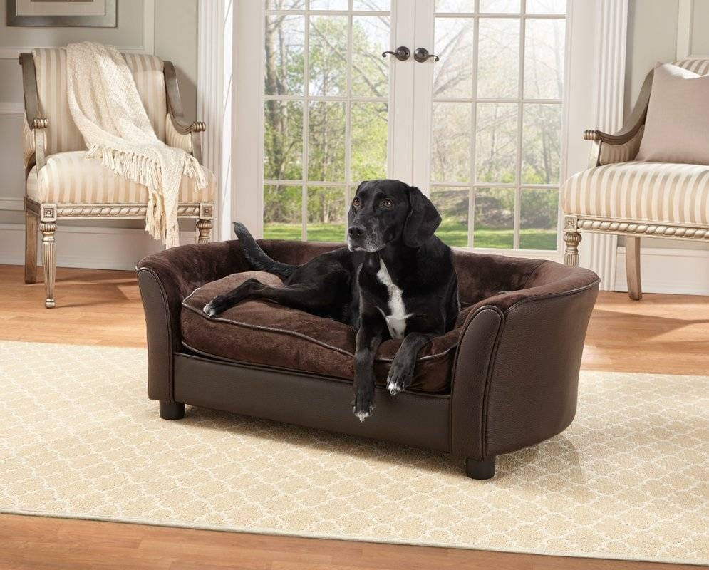 Enchanted Home Pet Panache Dog Sofa & Reviews | Wayfair pertaining to Sofas For Dogs (Image 2 of 30)