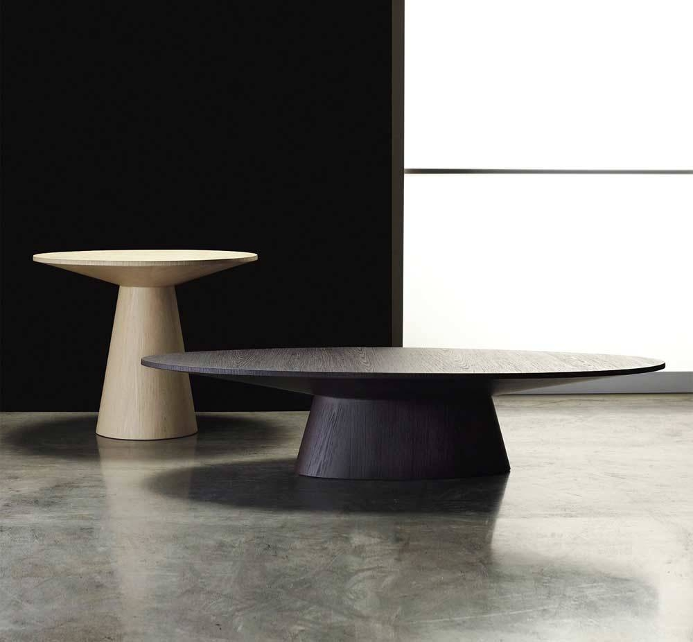 Encore Oval Shaped Coffee Table | Contemporary throughout Coffee Tables With Oval Shape (Image 15 of 30)