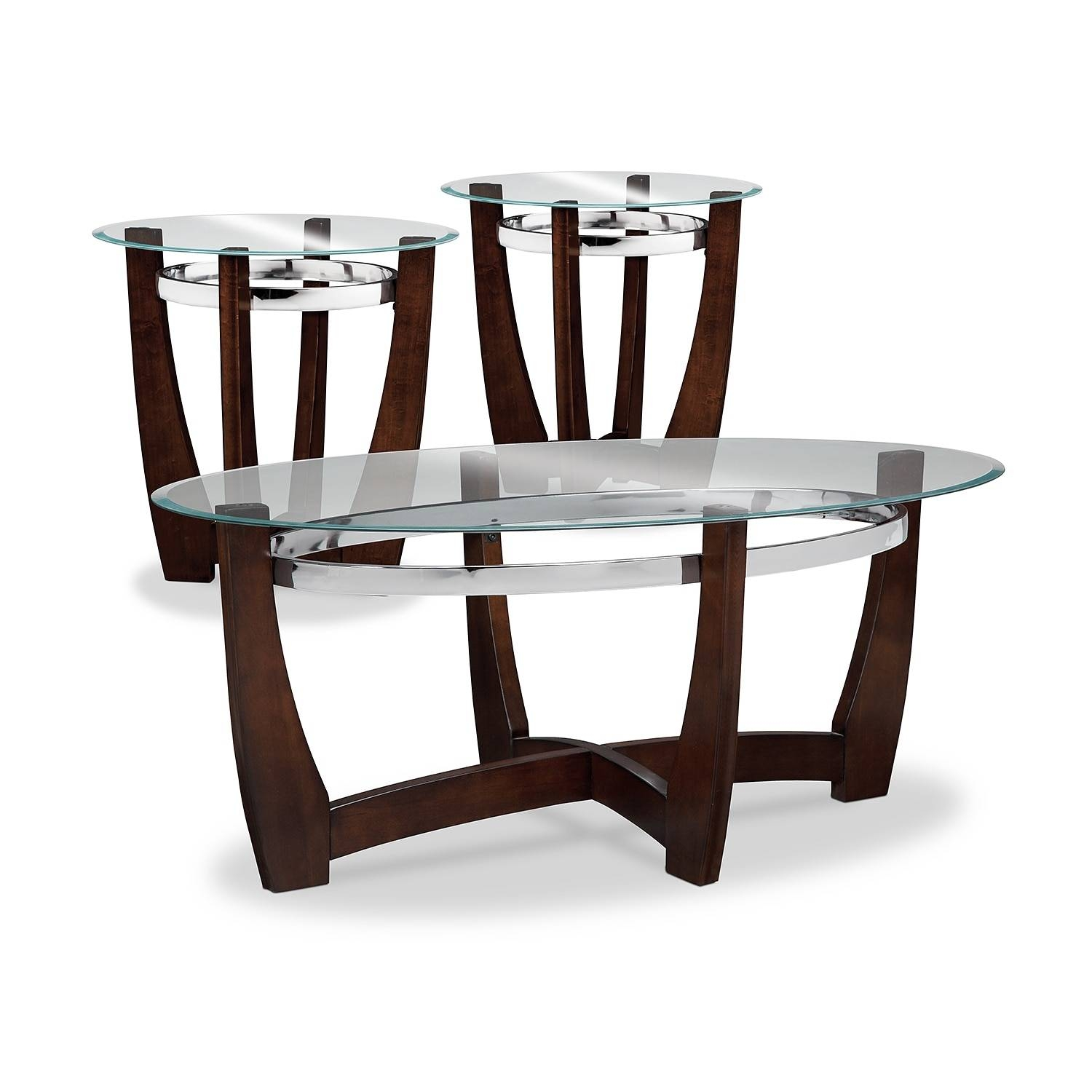 End Tables | Living Room Tables | Value City Furniture for Coffee Tables With Clock Top (Image 20 of 30)