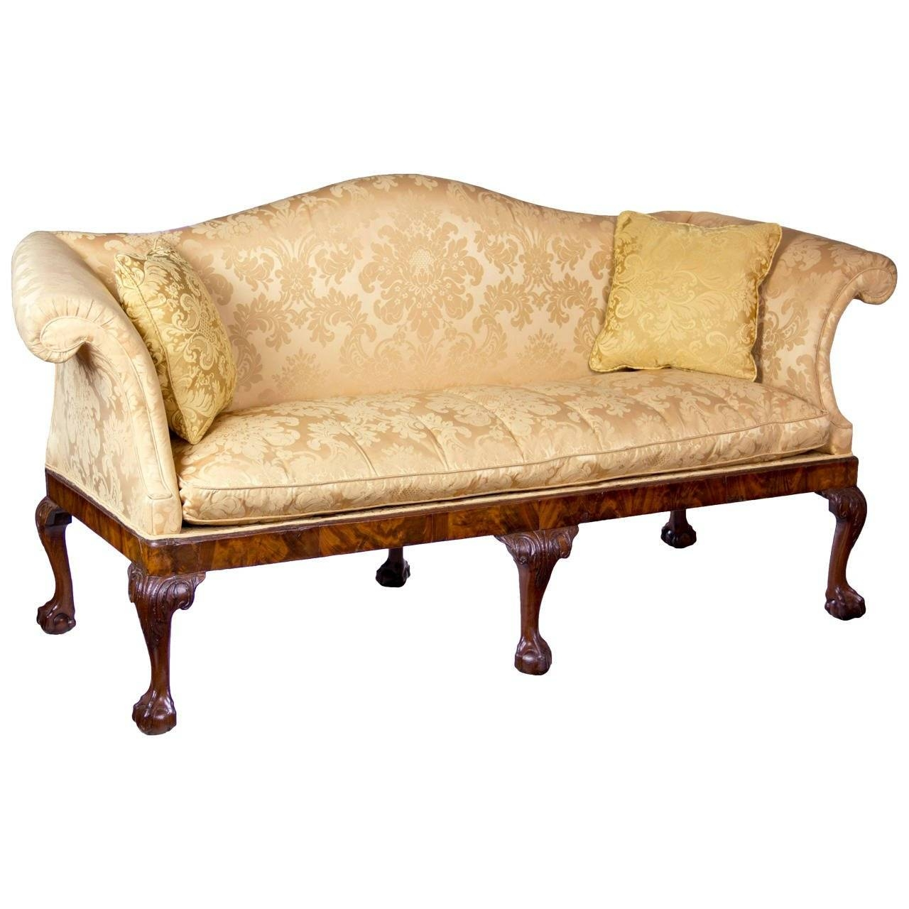 English Sofas - 136 For Sale At 1Stdibs inside Yellow Chintz Sofas (Image 17 of 30)