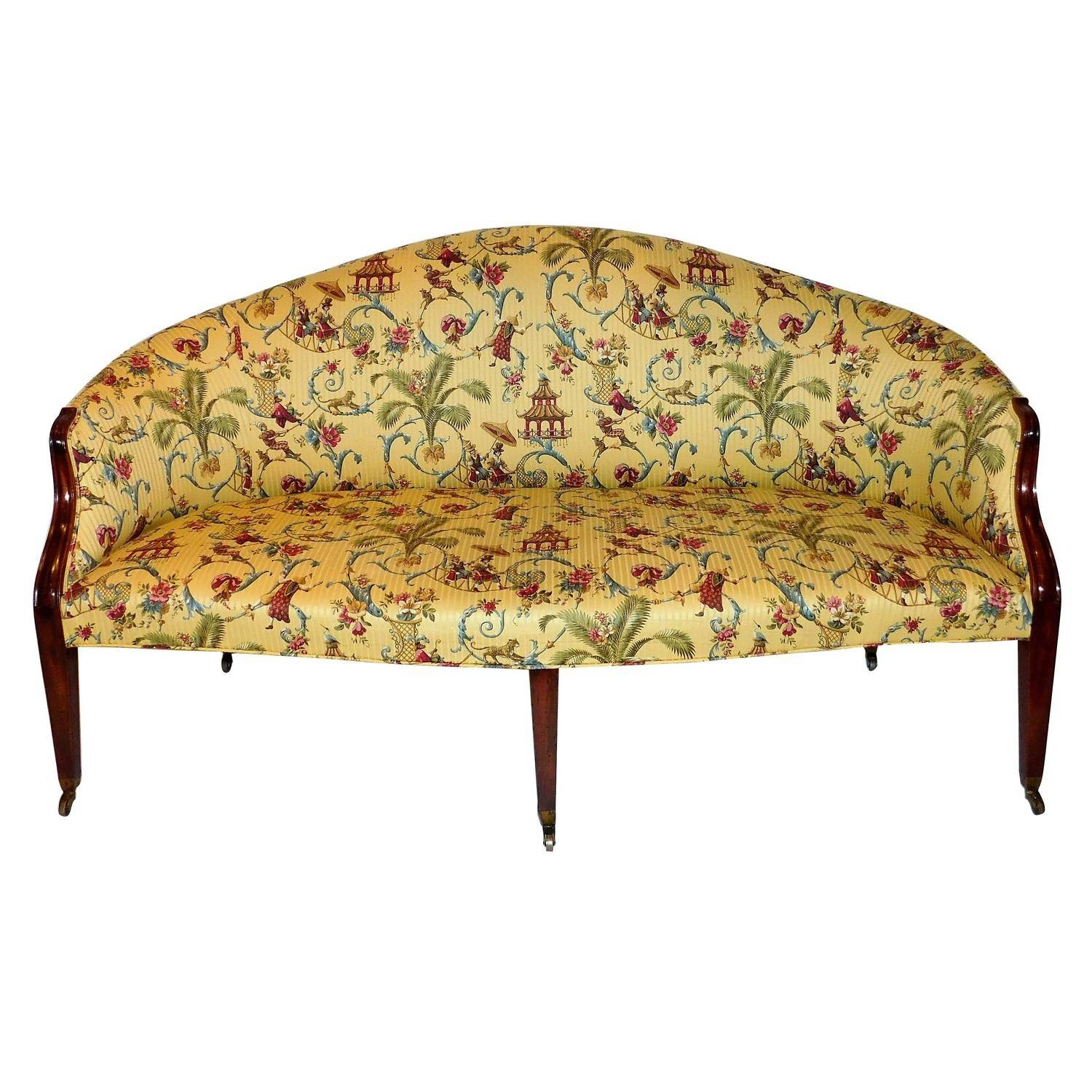 English Sofas - 137 For Sale At 1Stdibs inside Chintz Sofa Beds (Image 12 of 30)