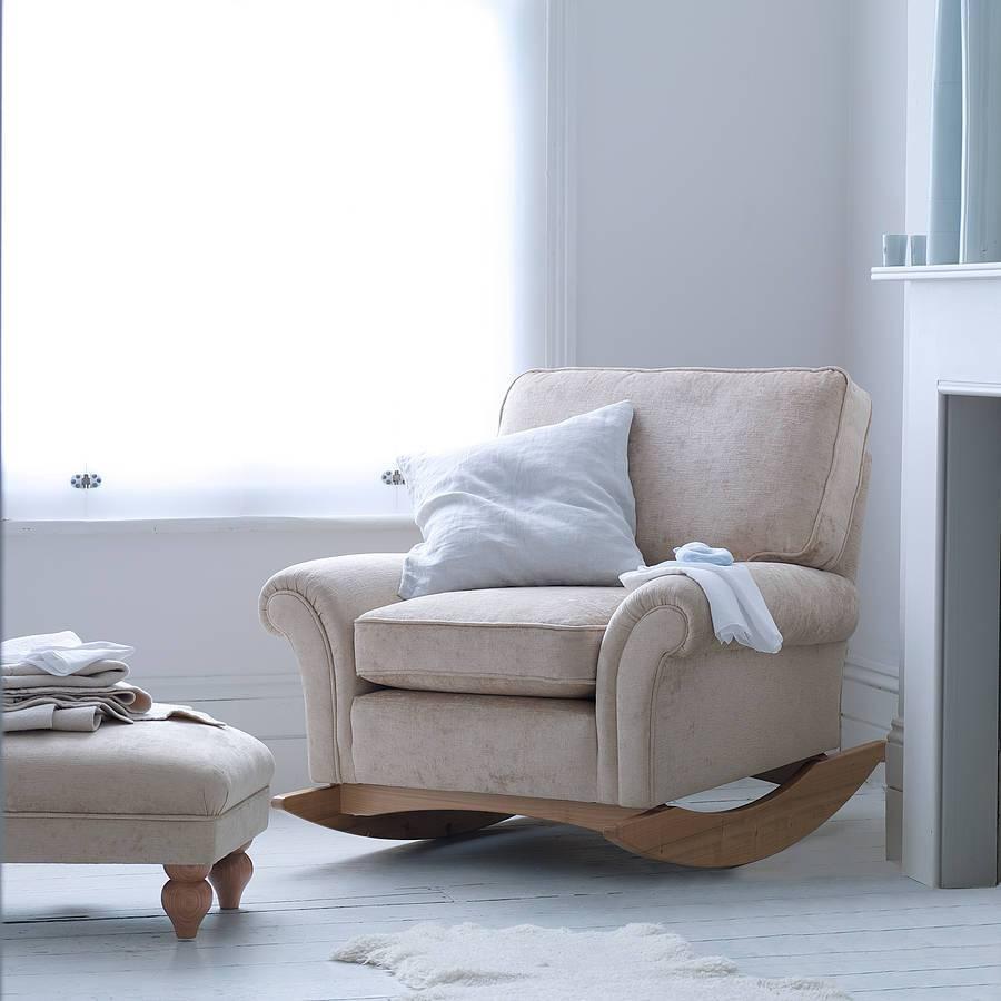 Enjoy Rocking Sofa Chair Nursery | Editeestrela Design inside Sofa Rocking Chairs (Image 5 of 30)