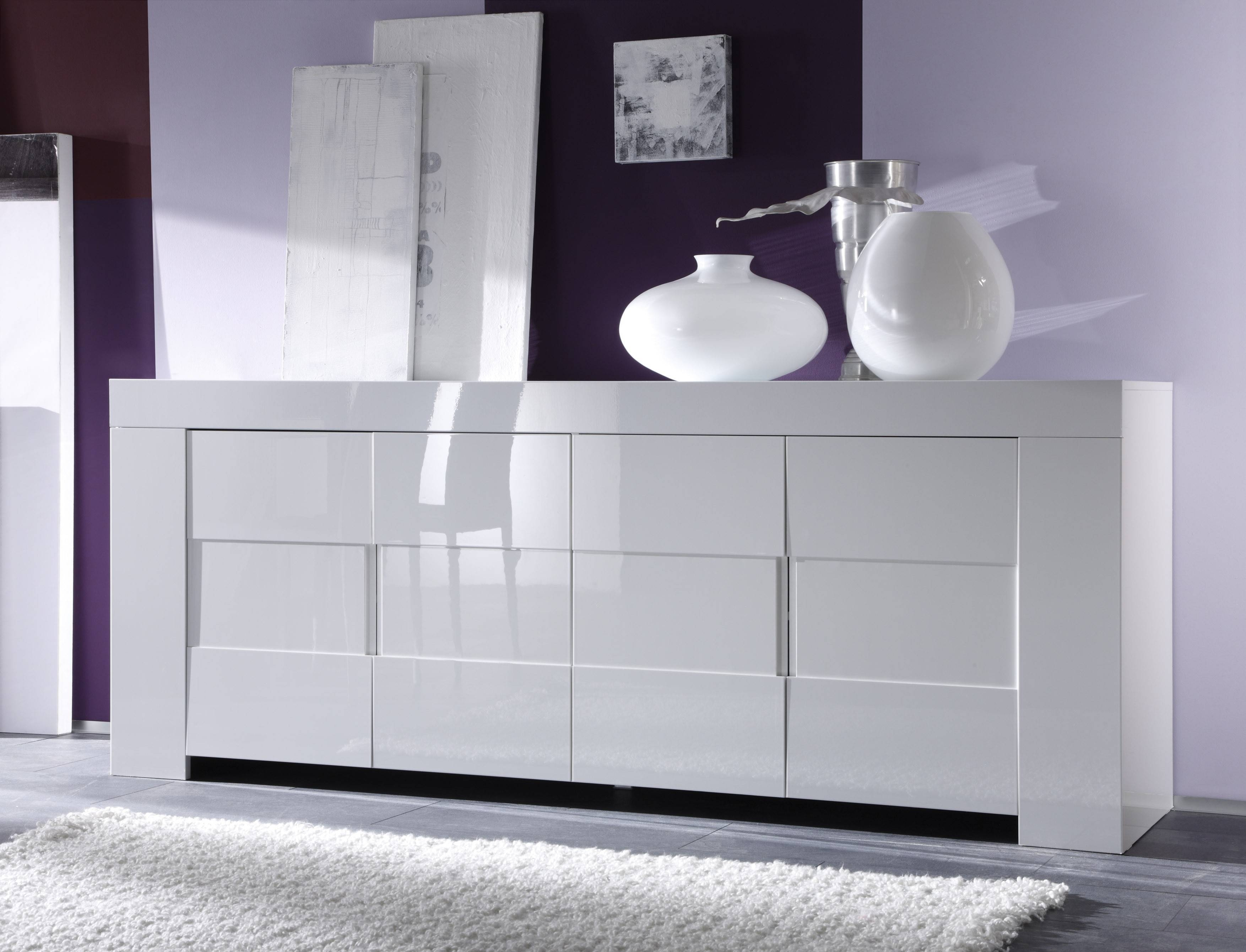 Eos Sideboard, White Buy Online At Best Price - Sohomod pertaining to White Sideboard Furniture (Image 9 of 30)