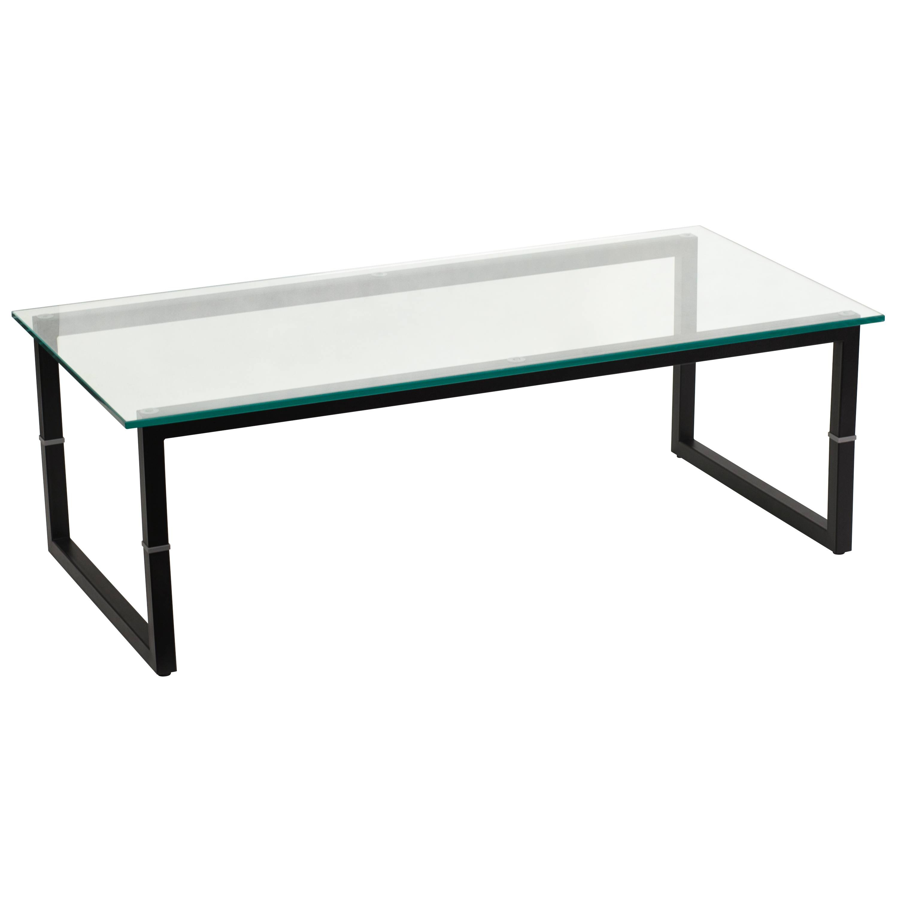 Good Eq3 Custom Square Coffee Table Glass Top Triangle For Custom Intended For Metal  Coffee Tables With