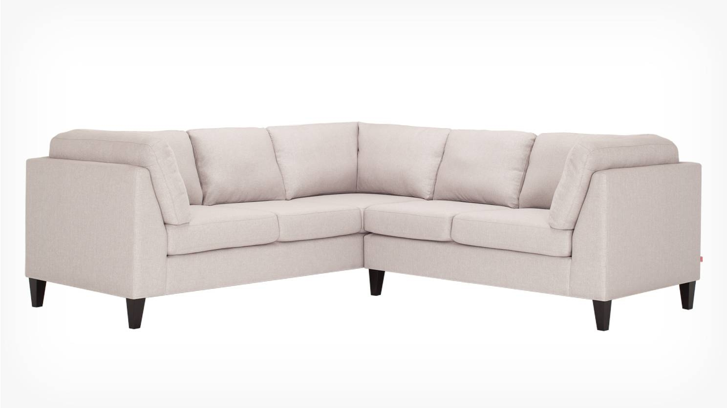 Eq3 | Salema 2-Piece Sectional Sofa - Fabric with regard to Apartment Size Sofas And Sectionals (Image 16 of 30)