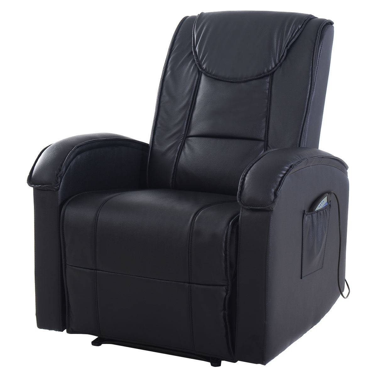 Ergonomic Massage Sofa Chair Electric Vibrating Recliner Lounge W inside Sofa Chair Recliner (Image 10 of 30)