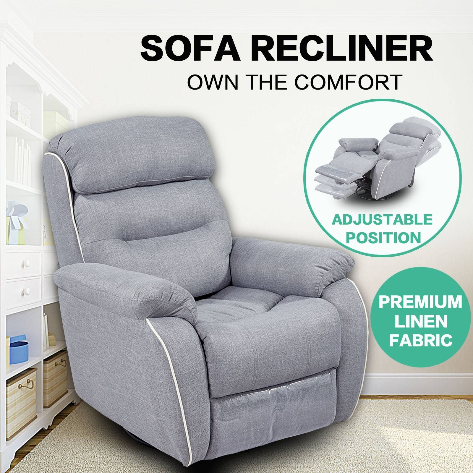 Ergonomic Sofa with regard to Ergonomic Sofas And Chairs (Image 13 of 30)
