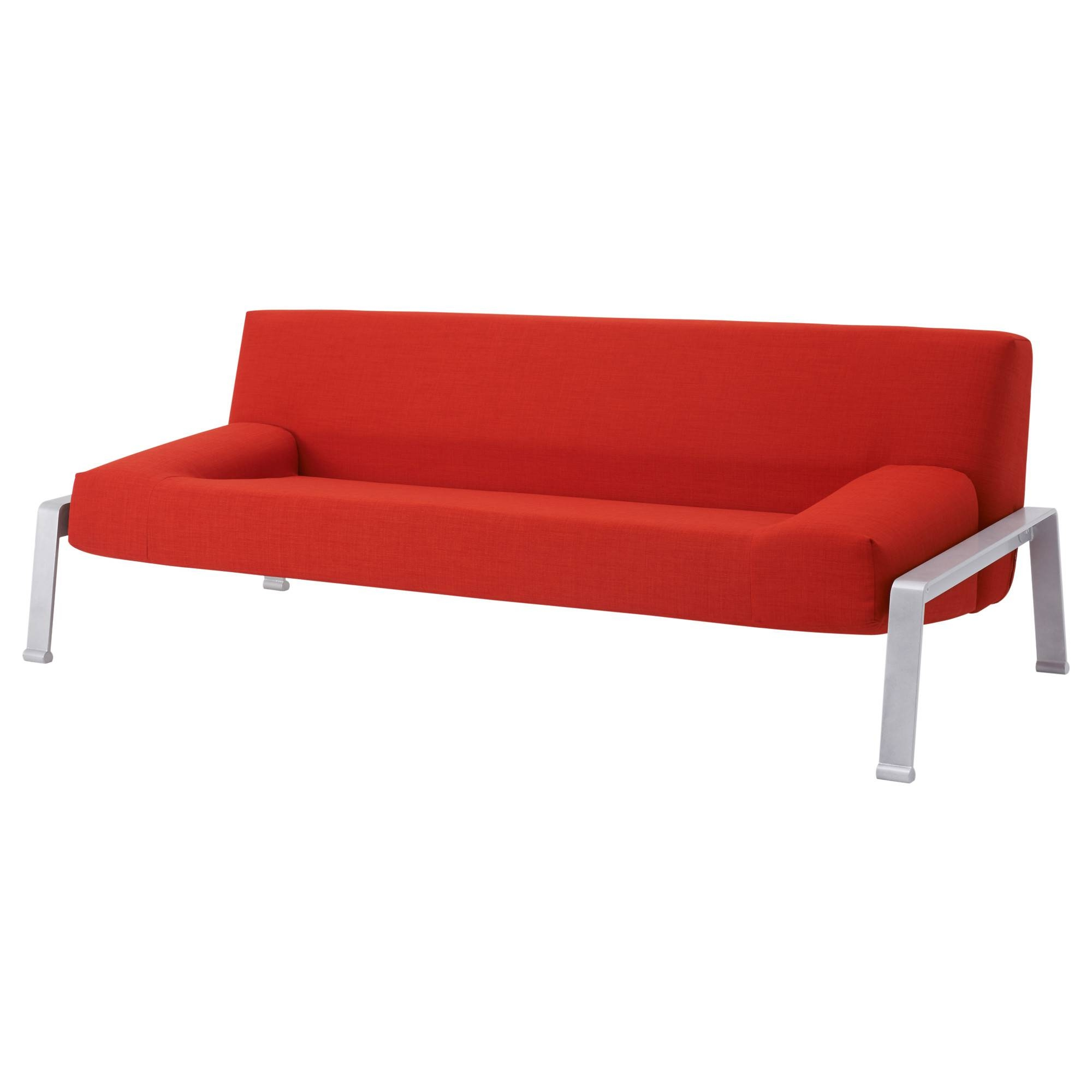 Erska Sleeper Sofa - Skiftebo Orange - Ikea intended for Sofa Bed Sleepers (Image 4 of 30)