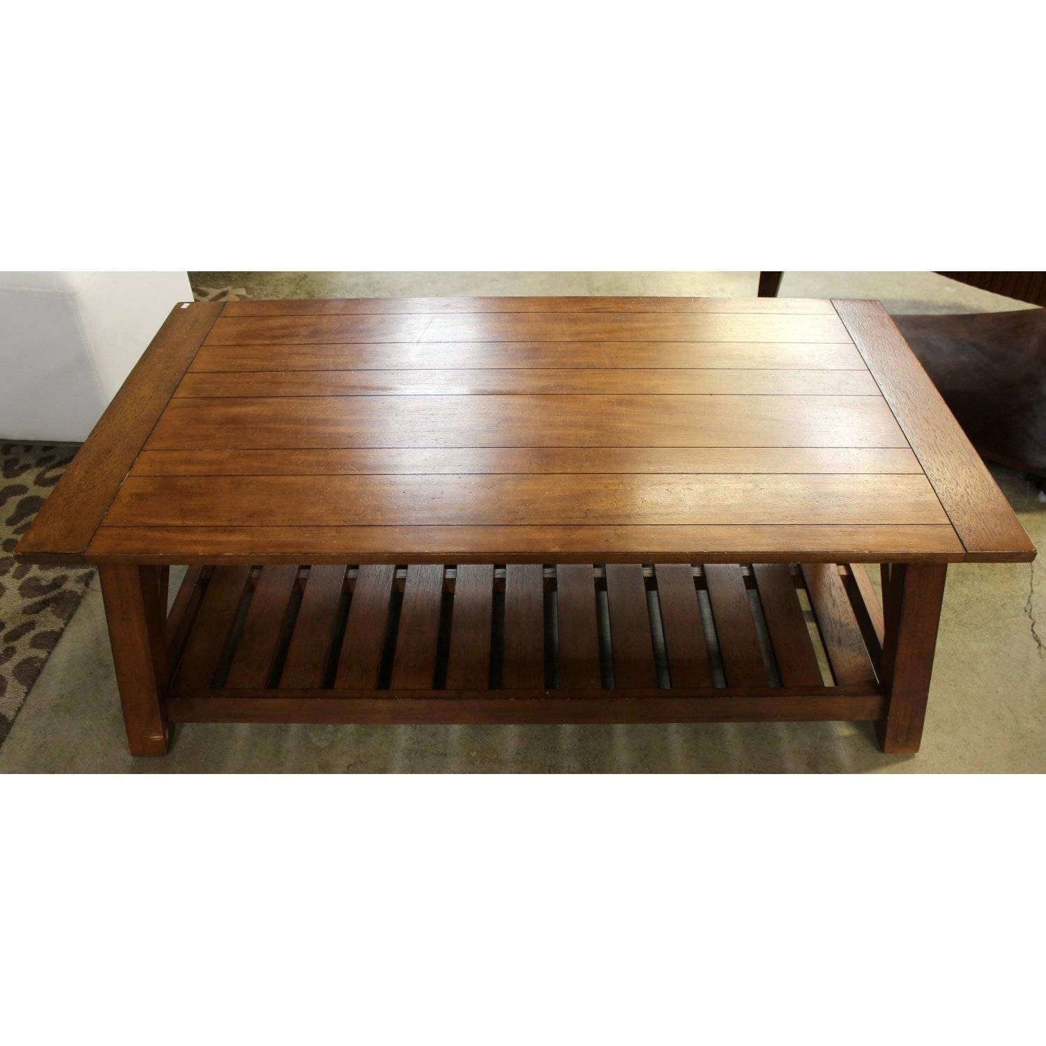 Ethan Allen Mahogany Coffee Table | Upscale Consignment within Mahogany Coffee Tables (Image 12 of 30)