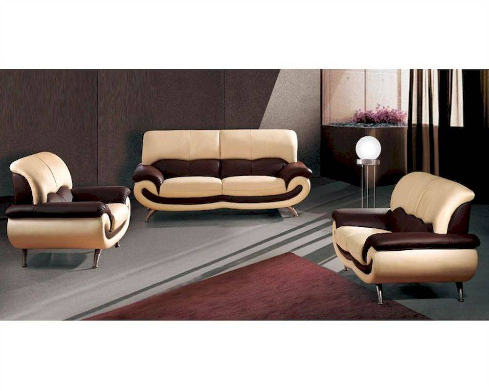 European Furniture Modern Two Tone Sofa Set 33Ss11 throughout Two Tone Sofas (Image 11 of 30)