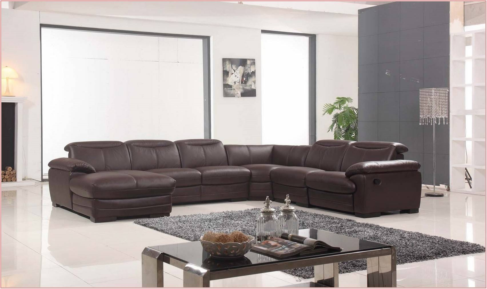 Excellent Abbyson Living Charlotte Beige Sectional Sofa And in Abbyson Sectional Sofa (Image 21 of 30)