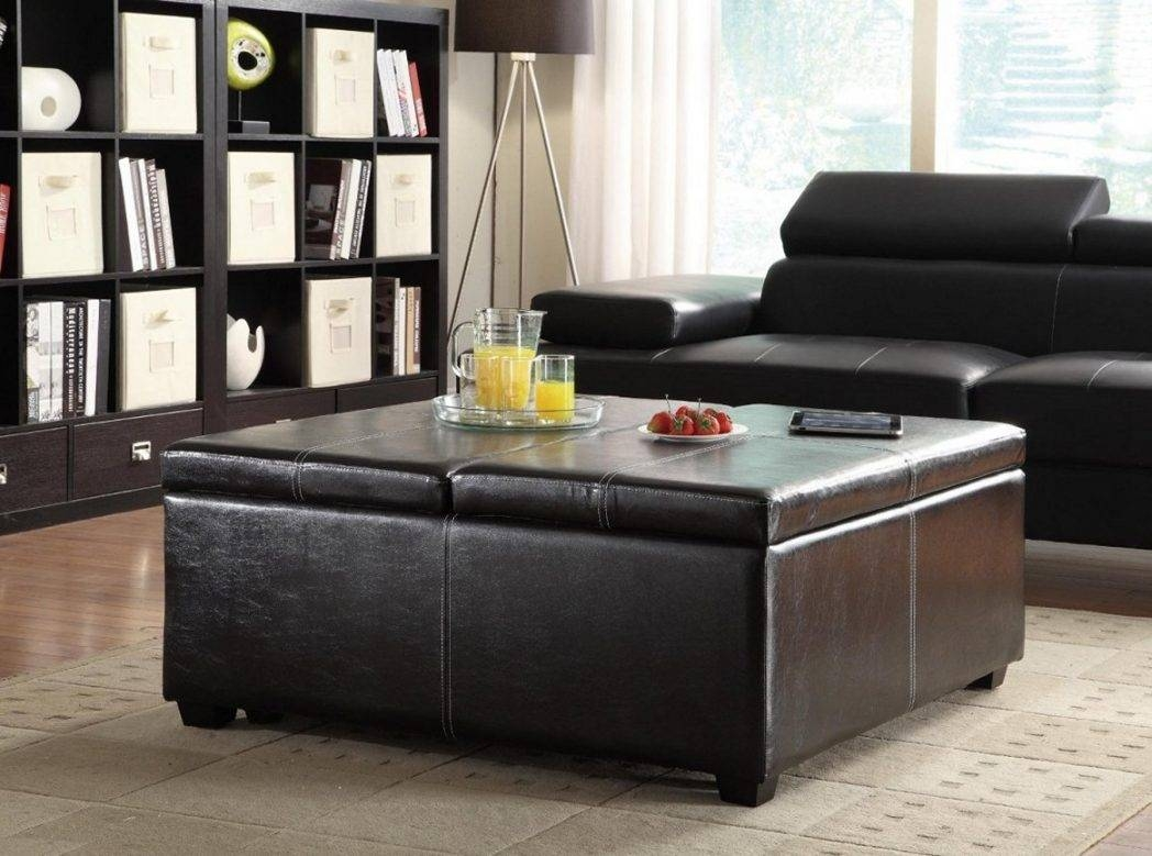 Excellent Square Coffee Tables With Storage Pictures Decoration intended for Black Coffee Tables With Storage (Image 19 of 30)