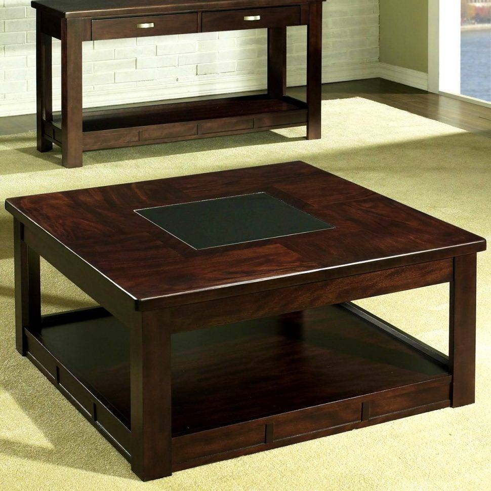 Excellent Square Coffee Tables With Storage Pictures Decoration intended for Square Coffee Table Storages (Image 14 of 30)