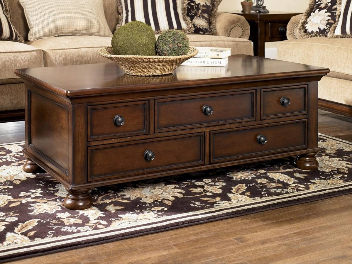Excellent Square Coffee Tables With Storage Pictures Decoration pertaining to Dark Wood Coffee Table Storages (Image 21 of 30)