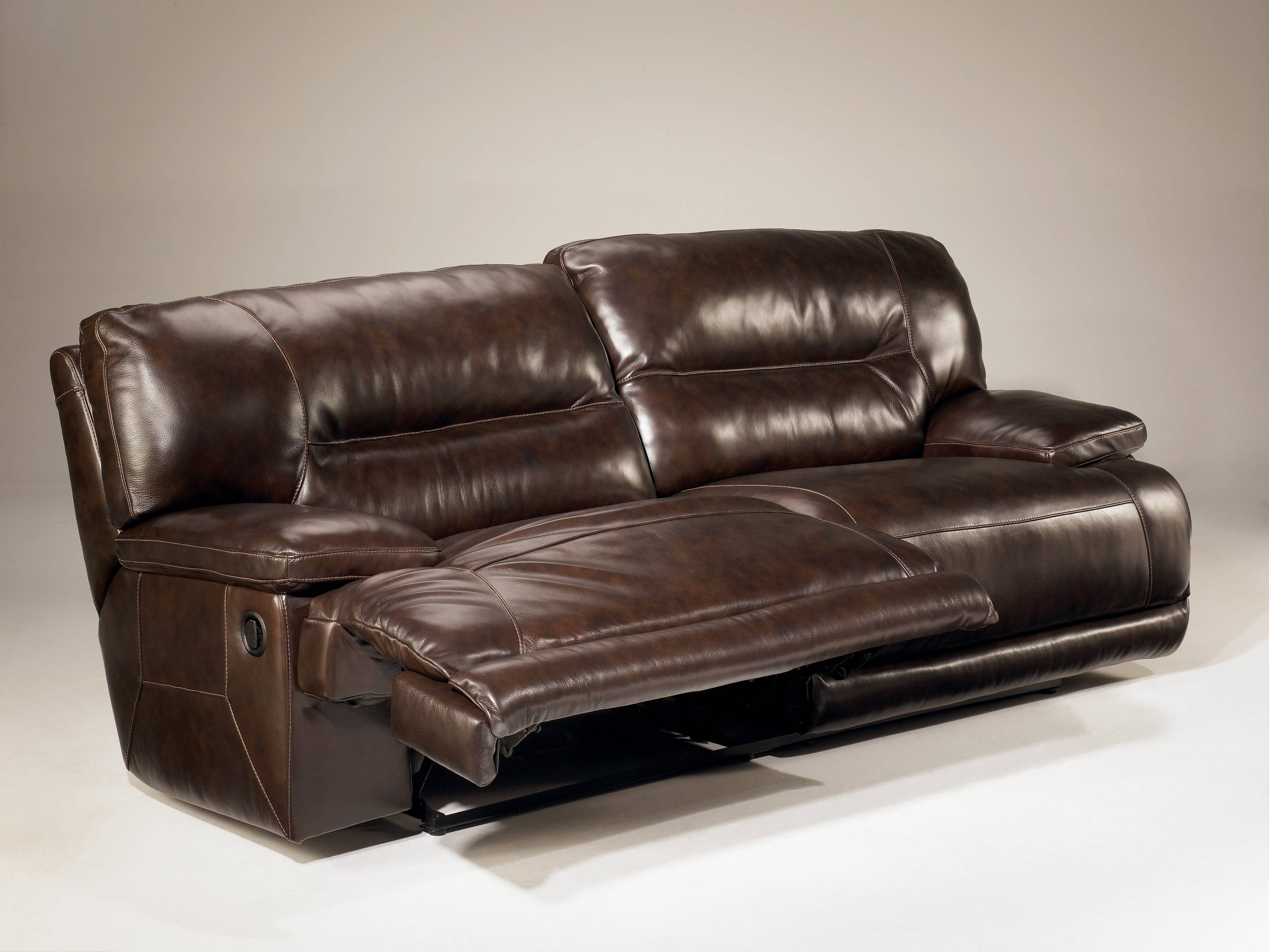 Exhilaration - Chocolate 42401 2 - Seat Power Reclining Sofa with regard to 2 Seat Recliner Sofas (Image 10 of 30)