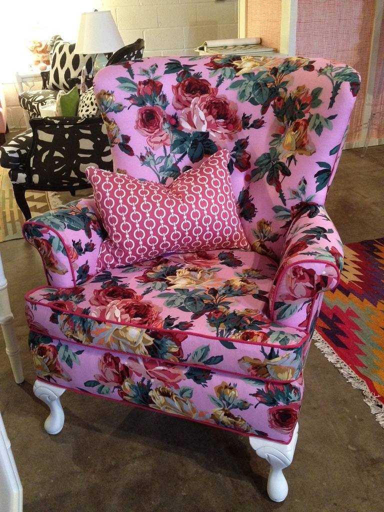 Exotic Sofas And Chairs To Create A Fresh Look within Floral Sofas And Chairs (Image 5 of 15)