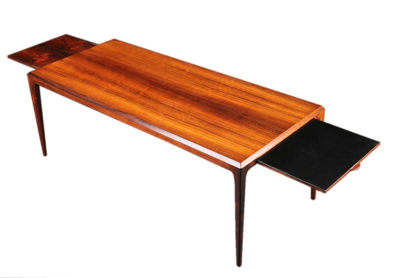 Extendable Xl Mid-Century Brazilian Rosewood Coffee Table throughout Extendable Coffee Tables (Image 12 of 30)