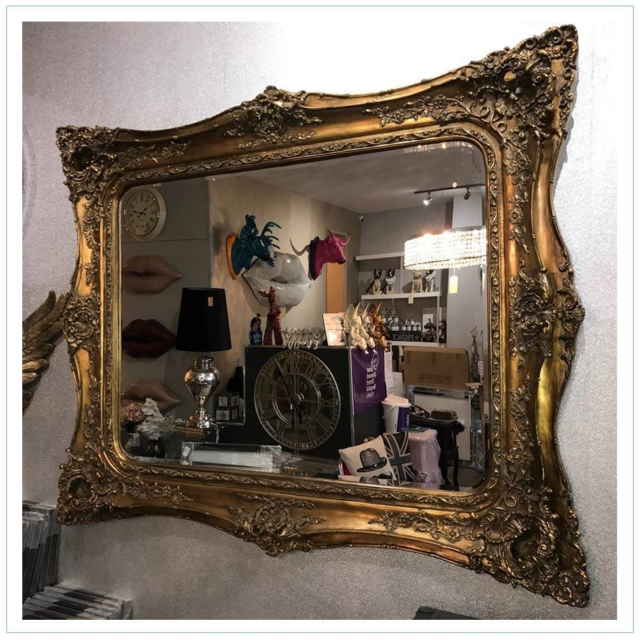 Extra Large Classic French Style Mirror – Chic Home Accessories Throughout Large French Style Mirrors (View 9 of 25)