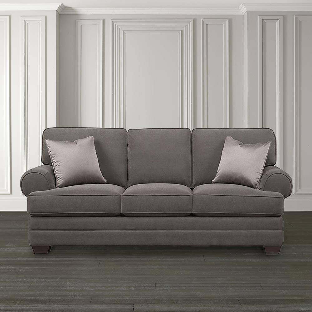 Extra Large Custom Upholstered Sofa intended for Large Sofa Chairs (Image 10 of 30)