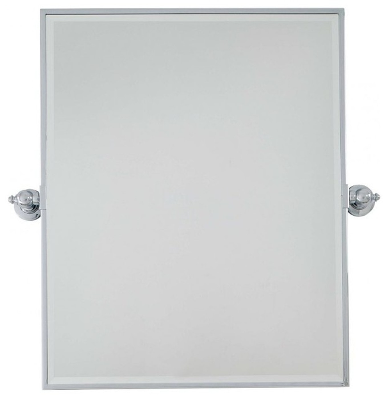 Extra Large Floor Mirror Chrome Framed Pivot Wall Mirrors With intended for Chrome Floor Mirrors (Image 7 of 25)