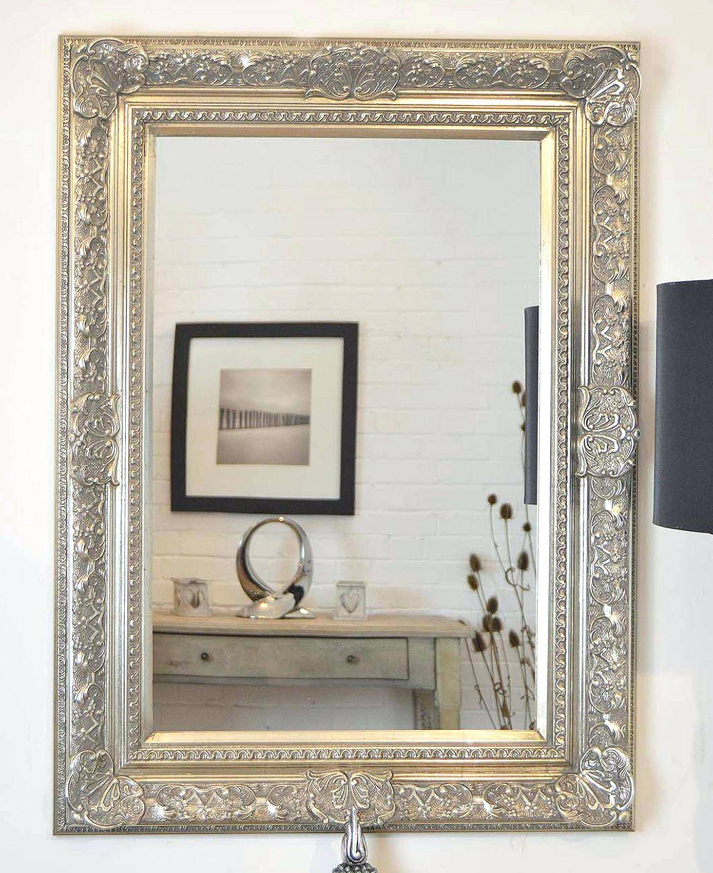 Extra Large Mirrorsx Wall Mirrors – Shopwiz with Big Silver Mirrors (Image 14 of 25)