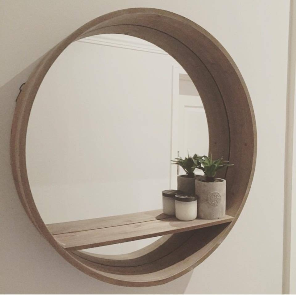 Extra Large Round Mirror 35 Outstanding For Metal Framed Oversized intended for Large Round Mirrors (Image 9 of 25)