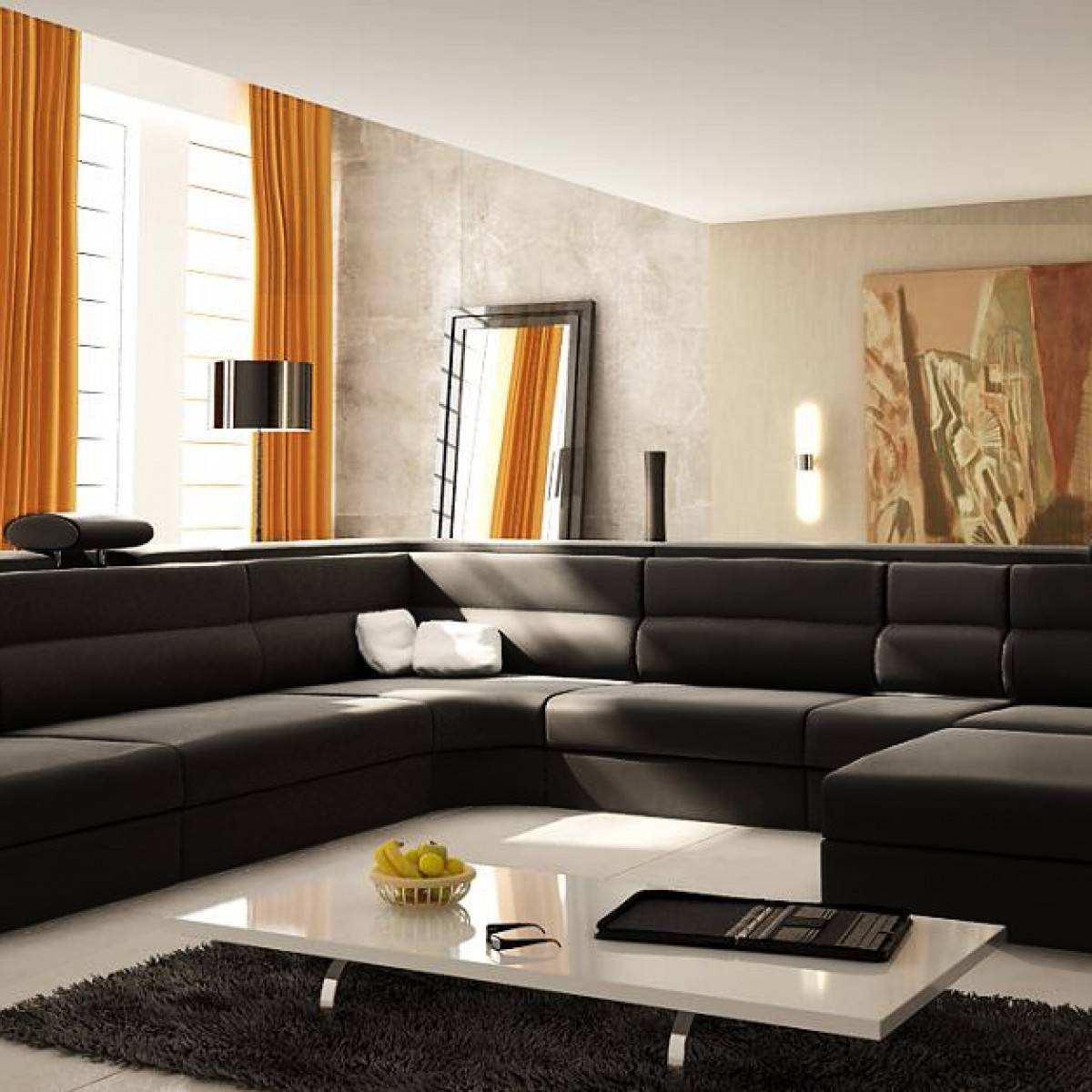 Extra Large Sectional Sofas For An Extra Large Living Room with Extra Large Sectional Sofas (Image 5 of 30)