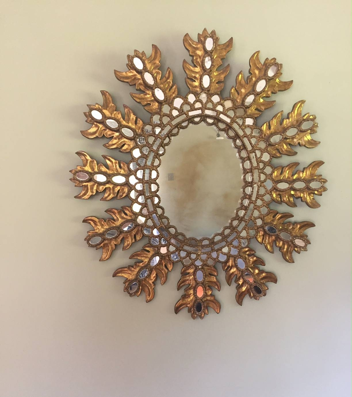 Extra Large Spanish Sunburst Mirror – Sold inside Extra Large Sunburst Mirrors (Image 9 of 25)
