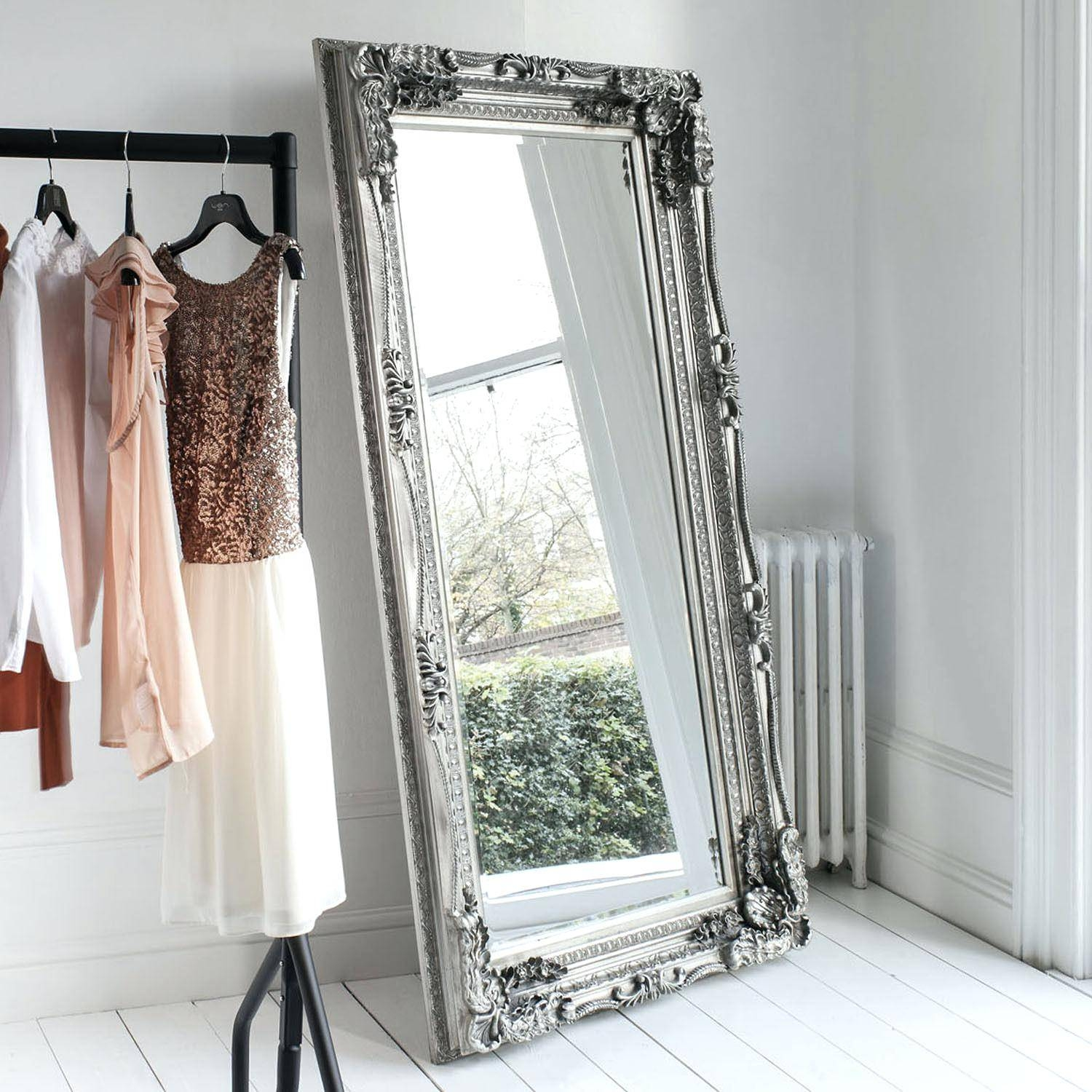 Extra Large Wall Mirrors – Amlvideo in Silver French Mirrors (Image 16 of 25)
