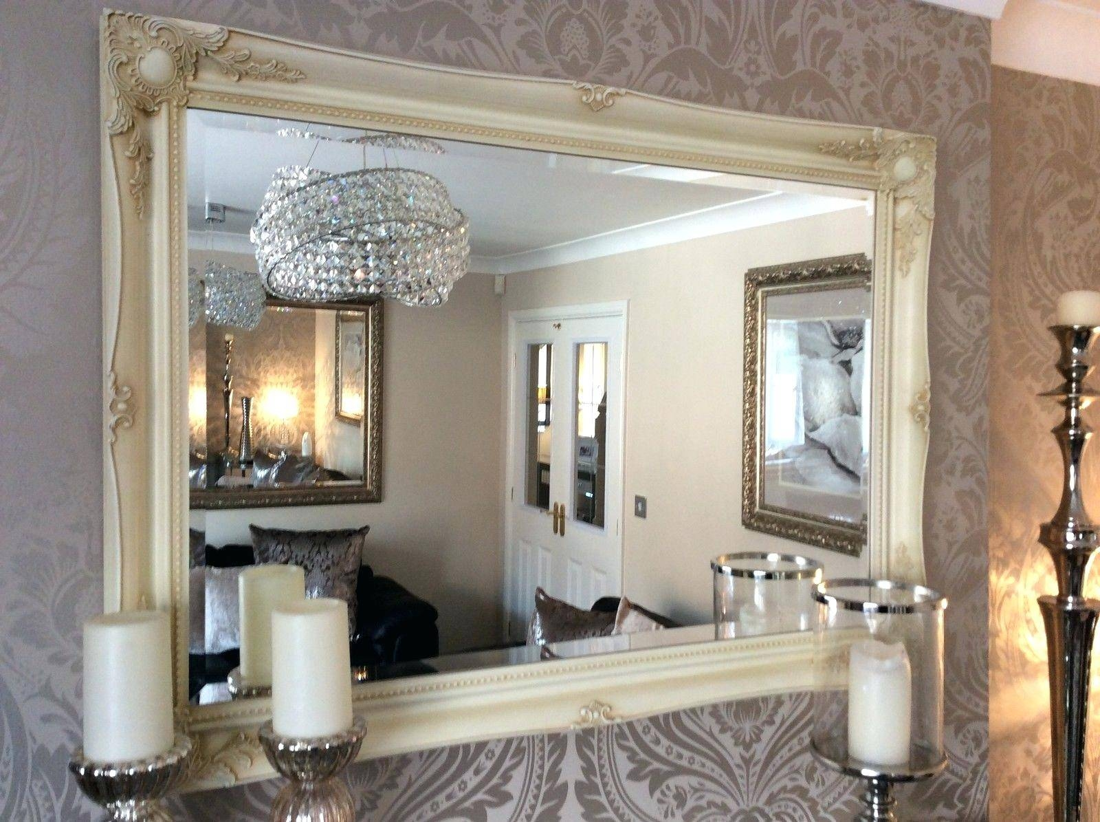 Extra Large Wall Mirrors – Amlvideo within Cream Wall Mirrors (Image 11 of 25)