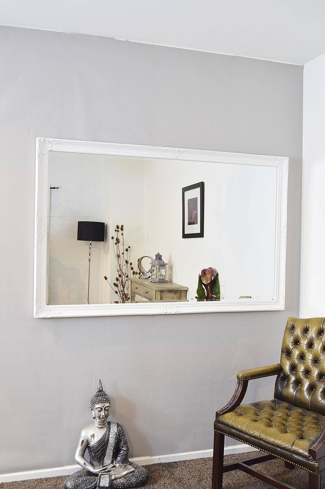 Extra Large Wall Mirrors Uk | Modern Home regarding Large Bevelled Mirrors (Image 7 of 25)