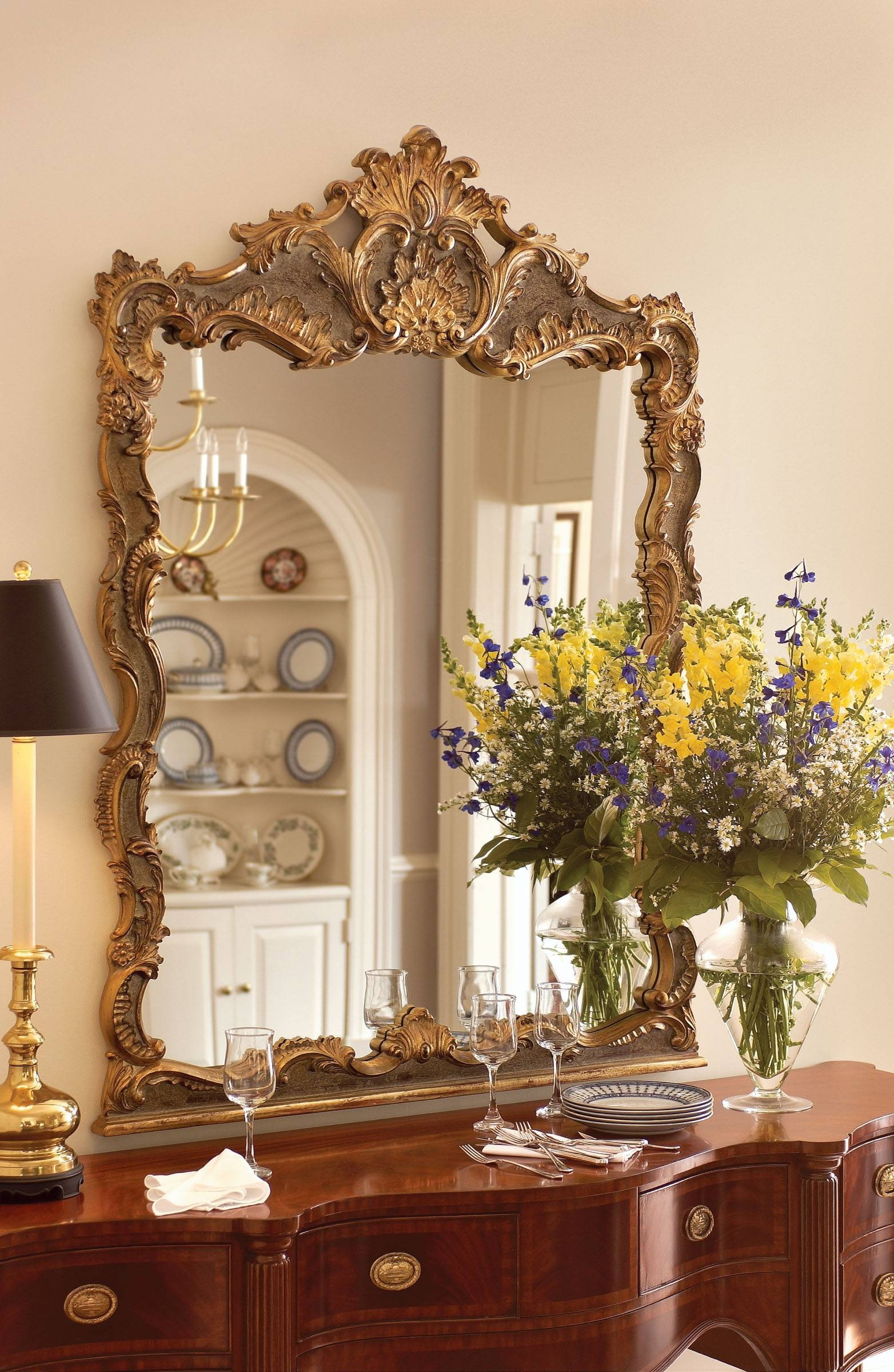 Extraordinary Baroque Wall Mirrors Photo Decoration Inspiration for Large Baroque Mirrors (Image 13 of 25)