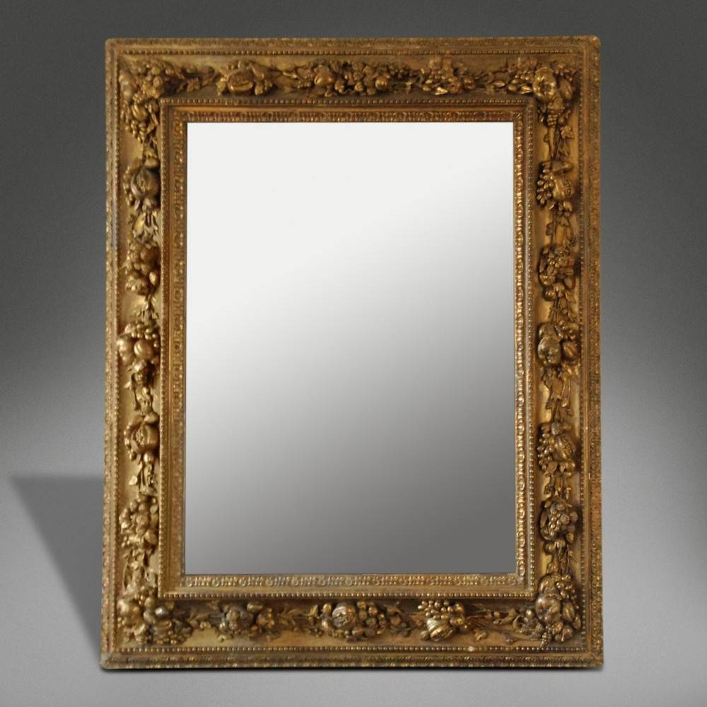 Extraordinary Baroque Wall Mirrors Photo Decoration Inspiration Pertaining To Baroque Style Mirrors (View 13 of 25)