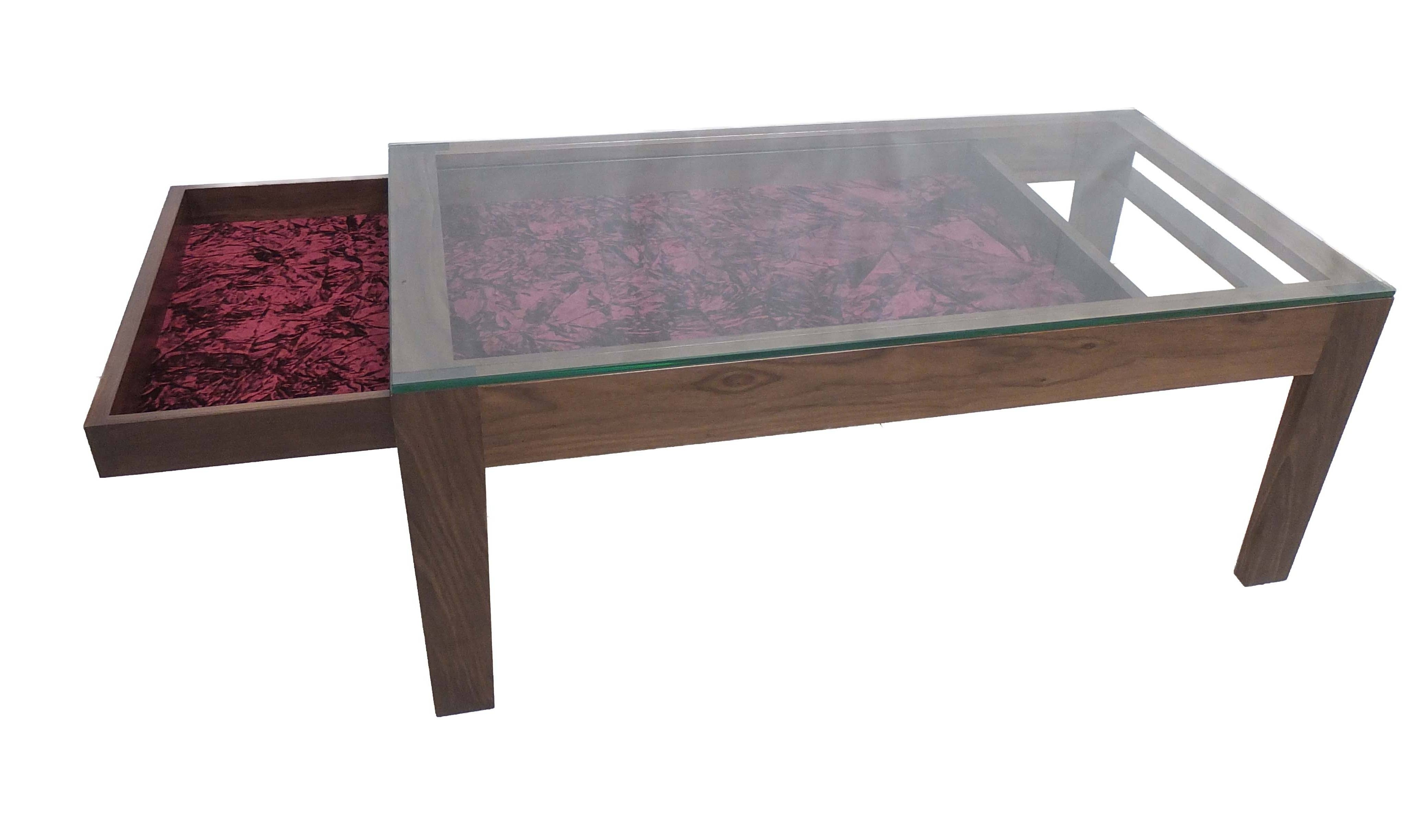 30 Best Ideas of Coffee Tables With Glass Top Display Drawer
