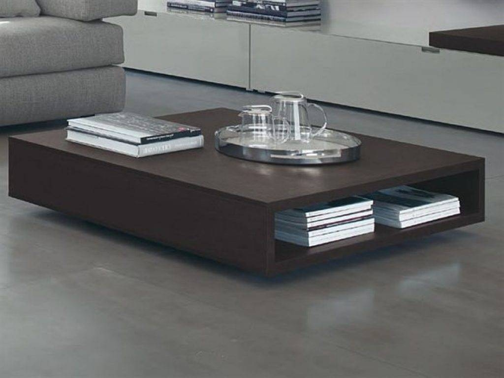 Extraordinary Low Modern Coffee Table Photo Design Ideas For Large Square Low Coffee Tables (View 24 of 30)
